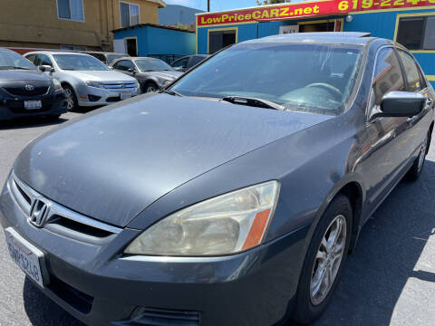 2007 Honda Accord for sale at CARZ in San Diego CA