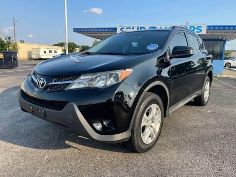 2015 Toyota RAV4 for sale at SOLID MOTORS LLC in Garland TX