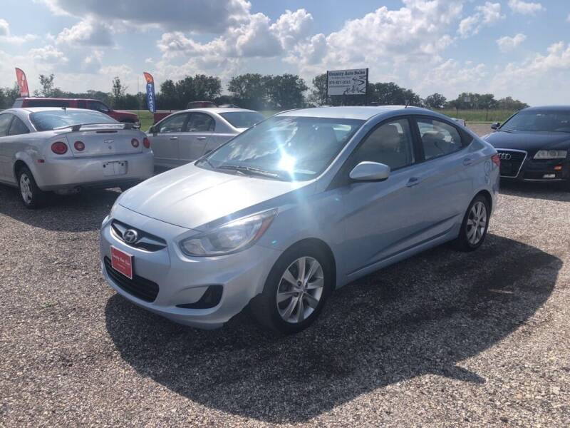 2012 Hyundai Accent for sale at COUNTRY AUTO SALES in Hempstead TX