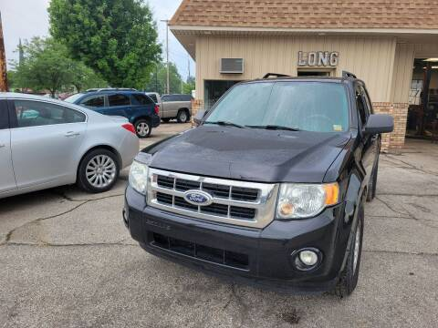 2010 Ford Escape for sale at Long Motor Sales in Tecumseh MI