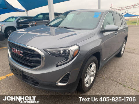 2018 GMC Terrain for sale at JOHN HOLT AUTO GROUP, INC. in Chickasha OK