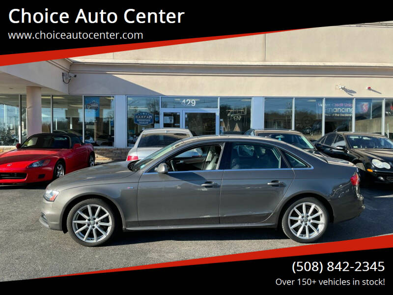 2014 Audi A4 for sale at Choice Auto Center in Shrewsbury MA