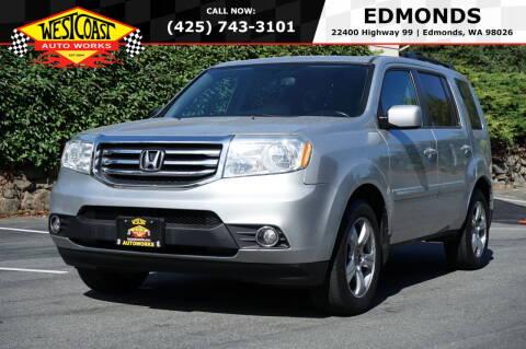 2013 Honda Pilot for sale at West Coast Auto Works in Edmonds WA