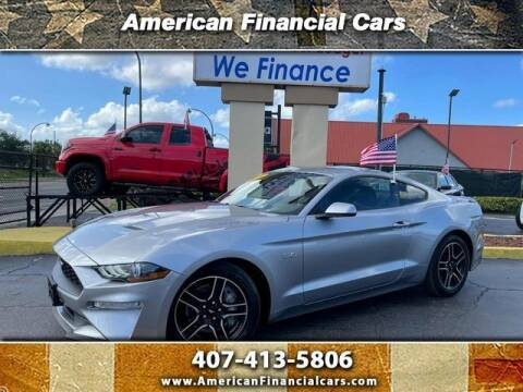 2020 Ford Mustang for sale at American Financial Cars in Orlando FL