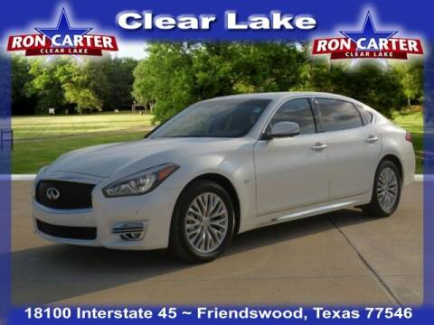 2017 Infiniti Q70L for sale at Ron Carter  Clear Lake Used Cars in Houston TX