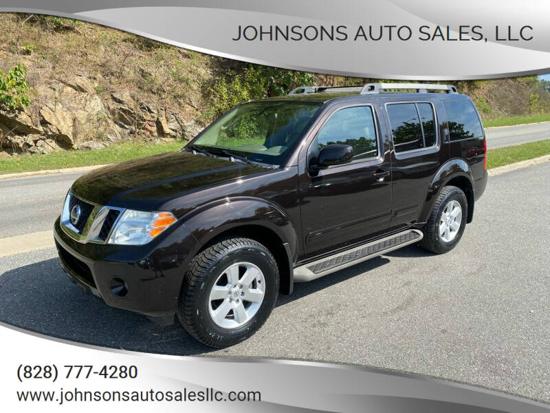2012 Nissan Pathfinder for sale at Johnsons Auto Sales, LLC in Marshall NC