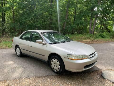 1999 Honda Accord for sale at Garber Motors in Midlothian VA