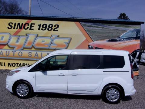 2015 Ford Transit Connect Wagon for sale at Pyles Auto Sales in Kittanning PA