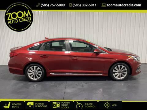 2015 Hyundai Sonata for sale at ZoomAutoCredit.com in Elba NY