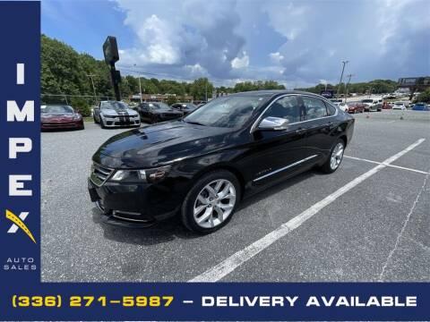 2018 Chevrolet Impala for sale at Impex Auto Sales in Greensboro NC