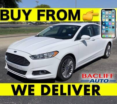 2013 Ford Fusion for sale at Bacliff Auto in Bacliff TX