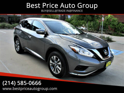 2015 Nissan Murano for sale at Best Price Auto Group in Mckinney TX