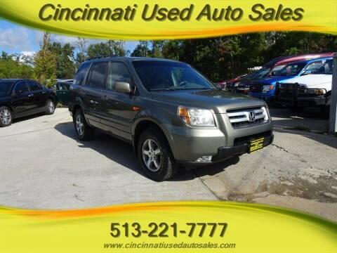 2007 Honda Pilot for sale at Cincinnati Used Auto Sales in Cincinnati OH