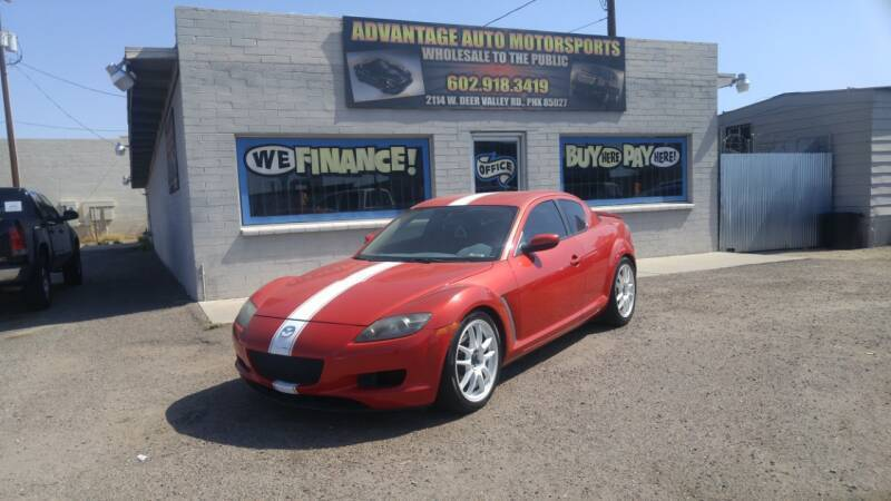 2008 Mazda RX-8 for sale at Advantage Motorsports Plus in Phoenix AZ