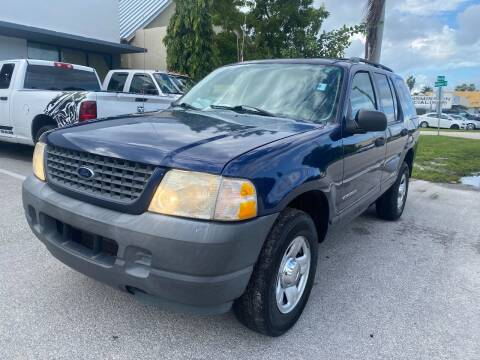 2004 Ford Explorer for sale at UNITED AUTO BROKERS in Hollywood FL
