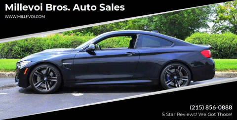 2016 BMW M4 for sale at Millevoi Bros. Auto Sales in Philadelphia PA
