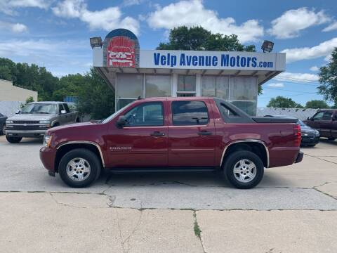 2008 Chevrolet Avalanche for sale at Velp Avenue Motors LLC in Green Bay WI