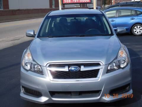 2013 Subaru Legacy for sale at Southbridge Street Auto Sales in Worcester MA