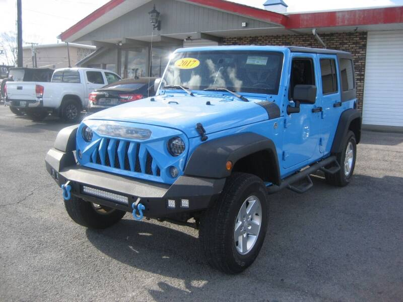 2017 Jeep Wrangler Unlimited for sale at Import Auto Connection in Nashville TN
