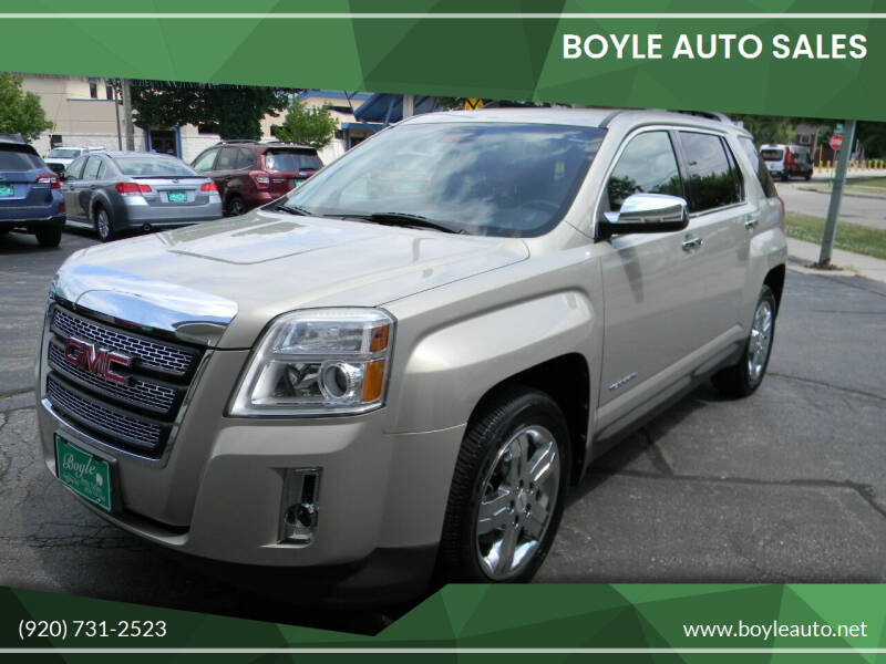 2012 GMC Terrain for sale at Boyle Auto Sales in Appleton WI