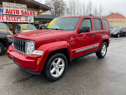 2008 Jeep Liberty for sale at Low Auto Sales in Sedro Woolley WA