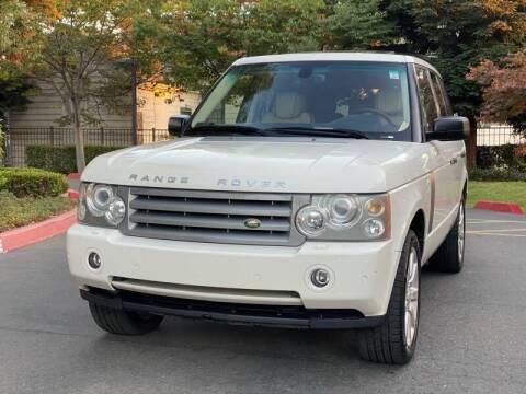 2009 Land Rover Range Rover for sale at ZaZa Motors in San Leandro CA