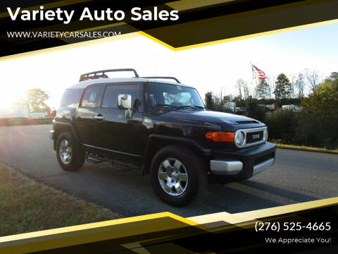 2007 Toyota FJ Cruiser for sale at Variety Auto Sales in Abingdon VA