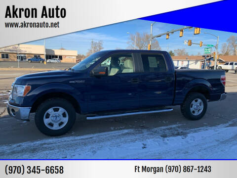 2010 Ford F-150 for sale at Akron Auto - Fort Morgan in Fort Morgan CO