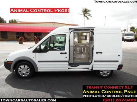 2013 Ford Transit Connect Cargo for sale at Town Cars Auto Sales in West Palm Beach FL