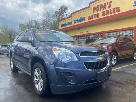 2014 Chevrolet Equinox for sale at Popas Auto Sales in Detroit MI