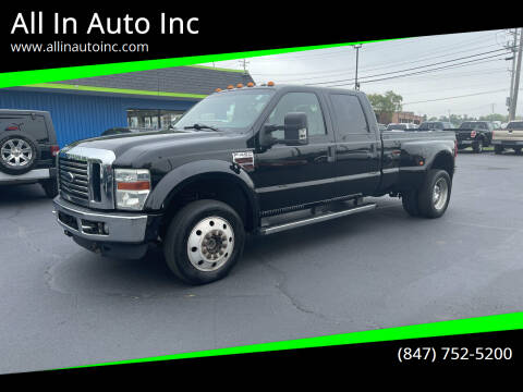 2010 Ford F-450 Super Duty for sale at All In Auto Inc in Palatine IL