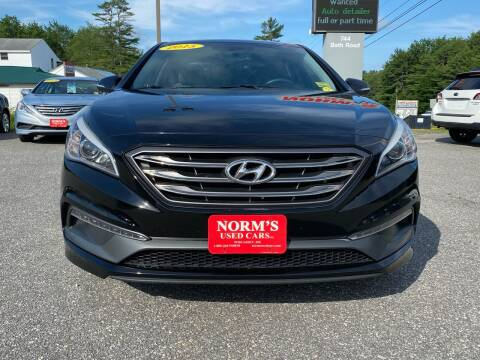 2015 Hyundai Sonata for sale at NORM'S USED CARS INC in Wiscasset ME