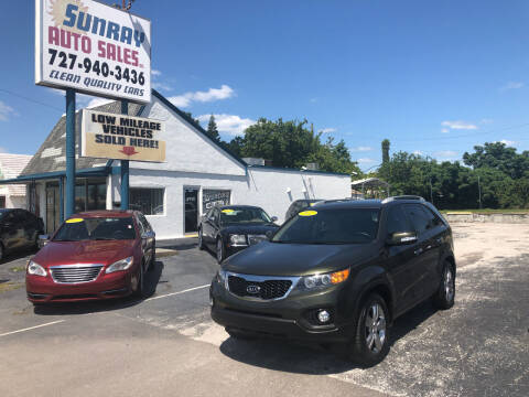 2012 Kia Sorento for sale at Sunray Auto Sales Inc. in Holiday FL