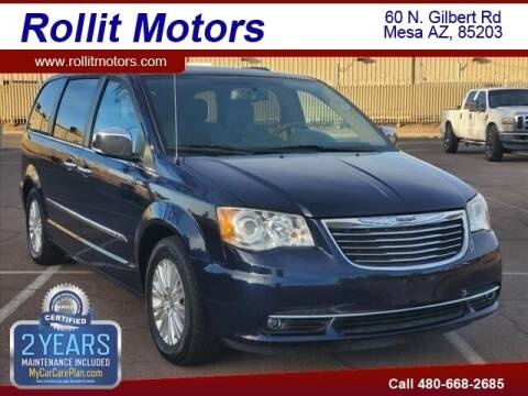 2013 Chrysler Town and Country for sale at Rollit Motors in Mesa AZ