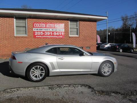 2014 Chevrolet Camaro for sale at Colvin Auto Sales in Tuscaloosa AL