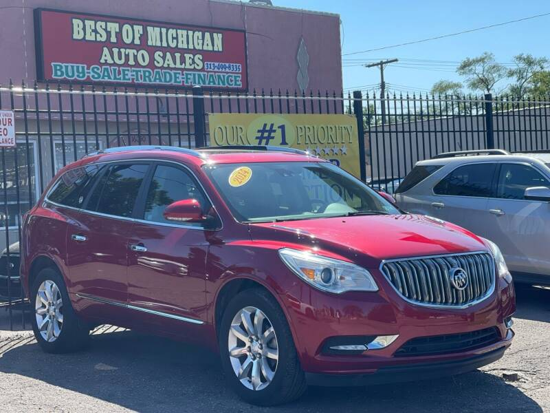 2014 Buick Enclave for sale at Best of Michigan Auto Sales in Detroit MI