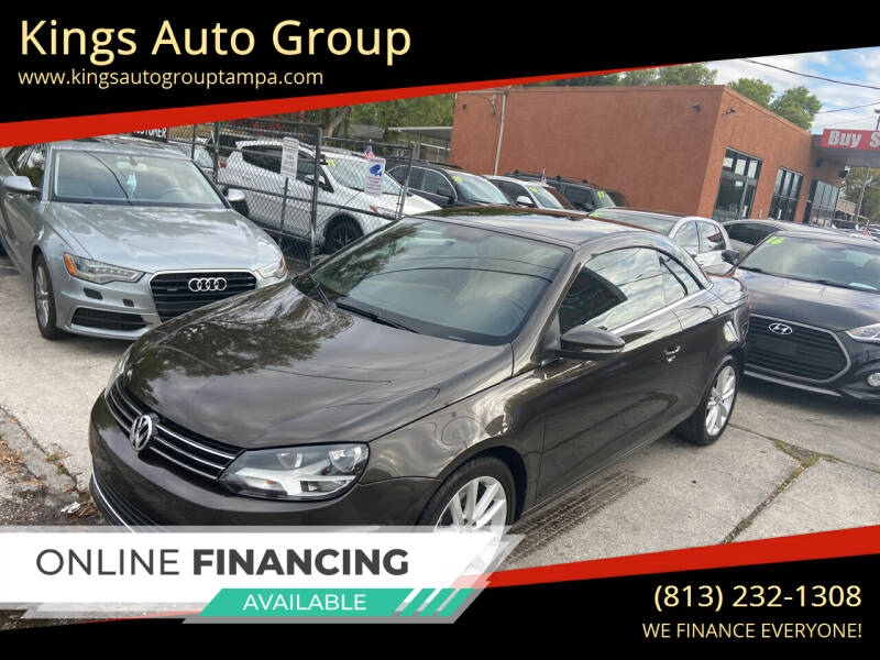 2012 Volkswagen Eos for sale at Kings Auto Group in Tampa FL