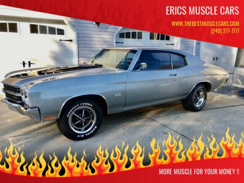 1970 Chevrolet Chevelle for sale at Erics Muscle Cars in Clarksburg MD