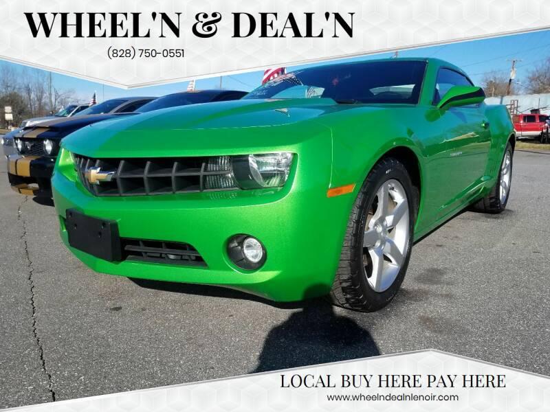 2011 Chevrolet Camaro for sale at Wheel'n & Deal'n in Lenoir NC