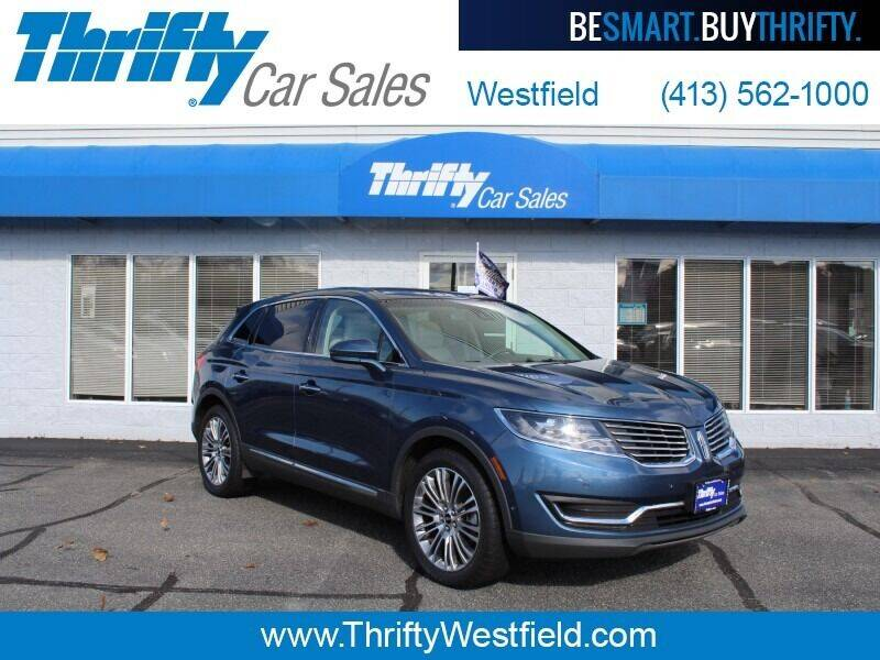 2018 Lincoln MKX for sale at Thrifty Car Sales Westfield in Westfield MA