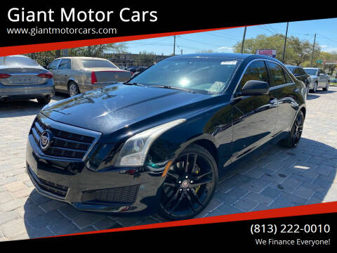 2014 Cadillac ATS for sale at Giant Motor Cars in Tampa FL