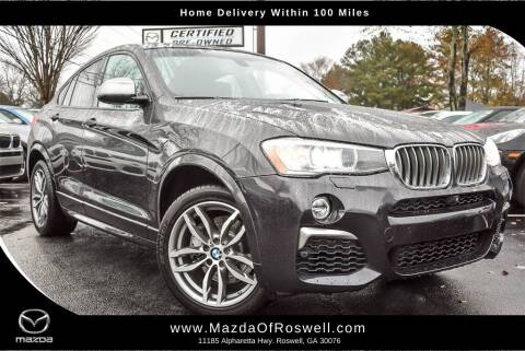 2017 BMW X4 for sale at Mazda Of Roswell in Roswell GA