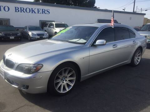 2006 BMW 7 Series for sale at Oxnard Auto Brokers in Oxnard CA