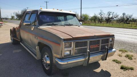 1986 GMC C/K 3500 Series for sale at CLASSIC MOTOR SPORTS in Winters TX