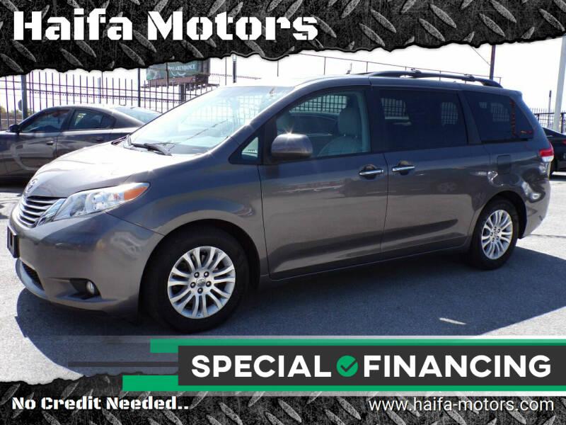 2011 Toyota Sienna for sale at Haifa Motors in Philadelphia PA