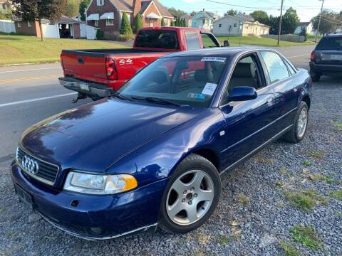 2001 Audi A4 for sale at Trocci's Auto Sales in West Pittsburg PA
