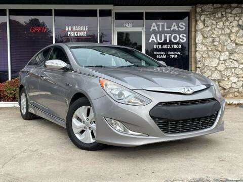 2013 Hyundai Sonata Hybrid for sale at ATLAS AUTOS in Marietta GA