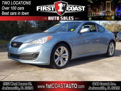 2011 Hyundai Genesis Coupe for sale at 1st Coast Auto -Cassat Avenue in Jacksonville FL