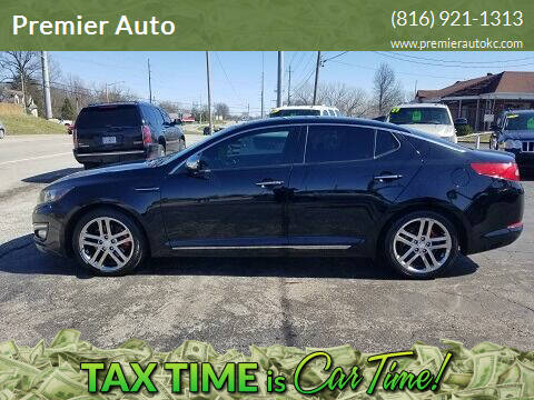 2013 Kia Optima for sale at Premier Auto in Independence MO