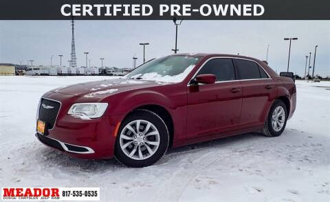 2018 Chrysler 300 for sale at Meador Dodge Chrysler Jeep RAM in Fort Worth TX